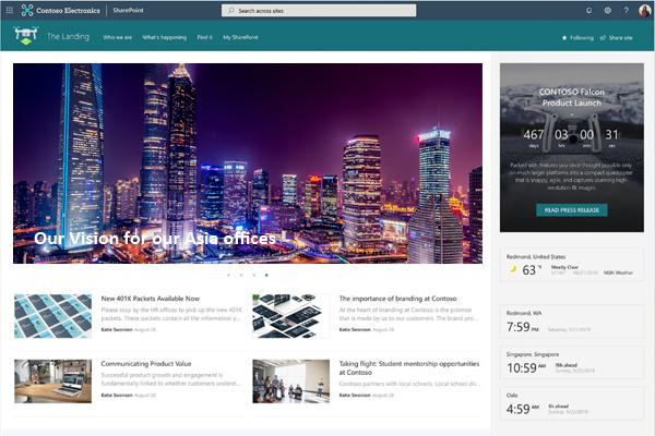 SharePoint Intranet Site Design